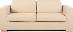 Image of a white modern couch.