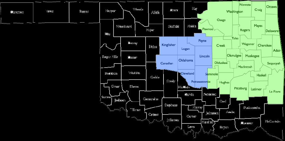 OK State Map